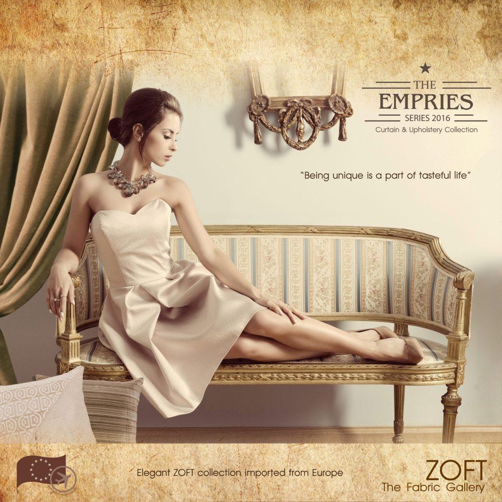 คอลเลคชั่นผ้าม่าน ZOFT - ผ้าม่าน ผ้าบุโซฟา Empries