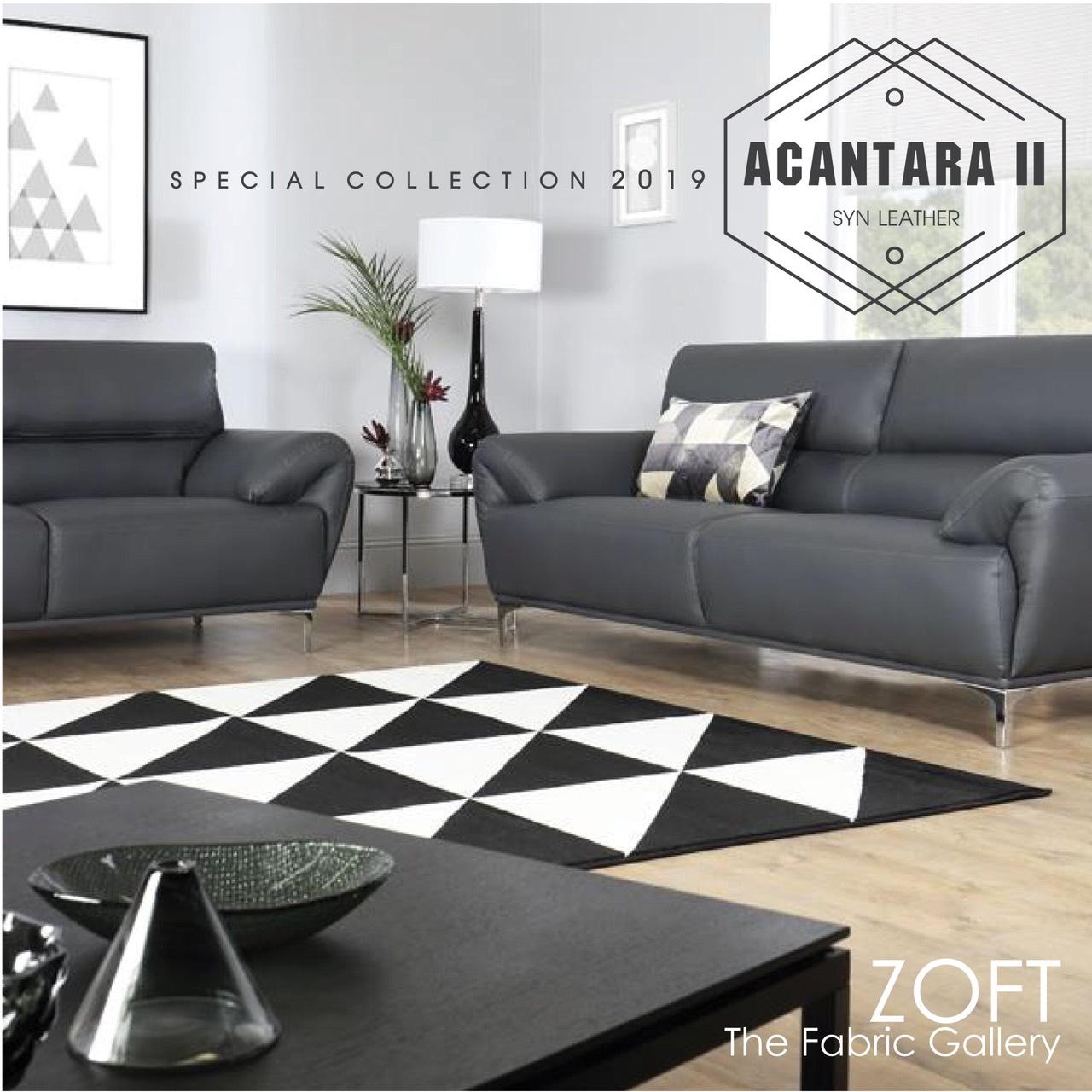 ผ้าบุเฟอร์นิเจอร์หนังสังเคราะห์ ZOFT - Acantara Collection - Cover
