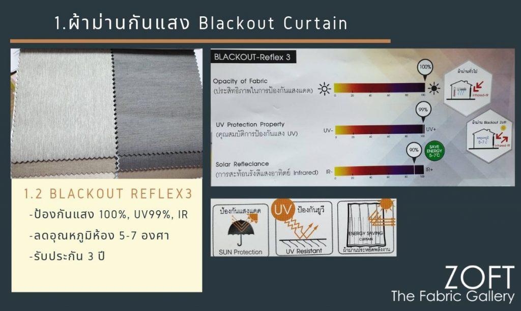 ผ้าม่านกันแสง Blackout Curtain-02