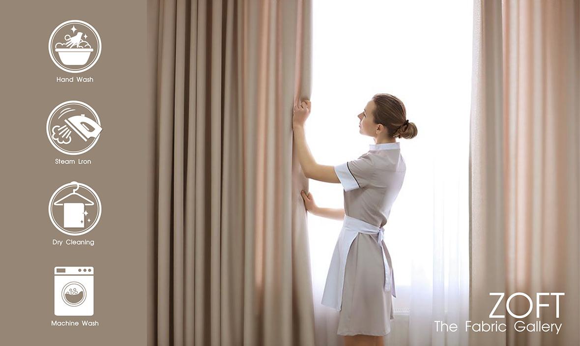 4 วิธีการทำความสะอาดผ้าม่าน โดยไม่ทำลายเนื้อผ้า - Featured Image