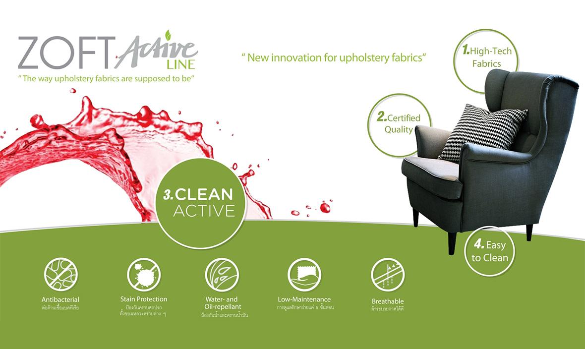 ผ้าบุโซฟาเคลือบน้ำยากันเปื้อน-Active-Line-Collection-จาก-ZOFT-Featured-Image
