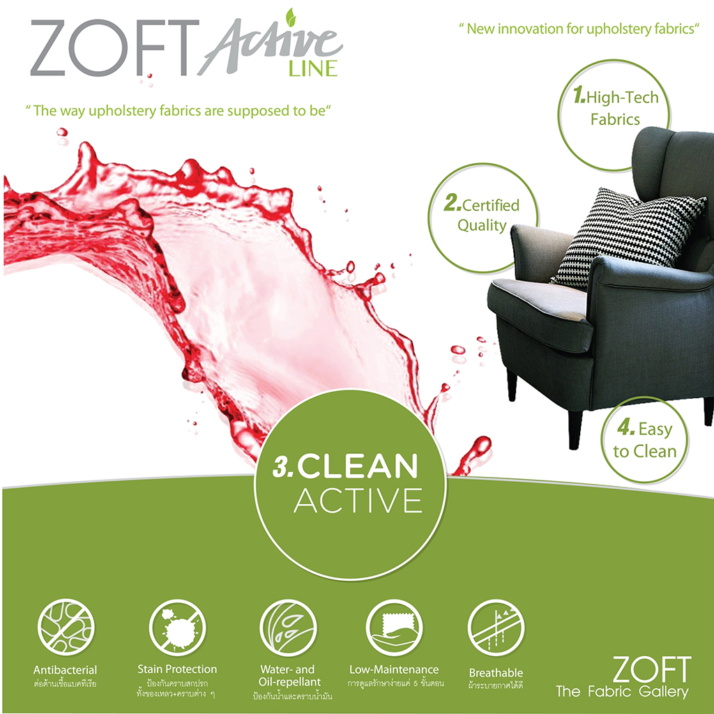 Upholstery ZOFT Active Line