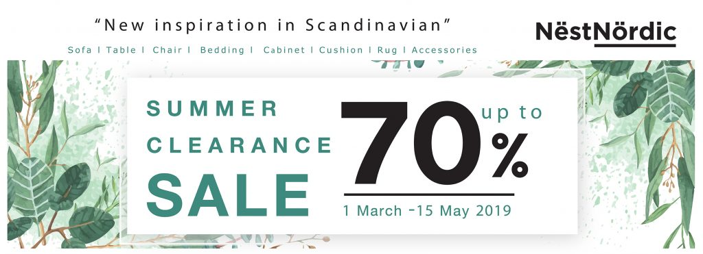 Nestnordic Summer Clearance Sale