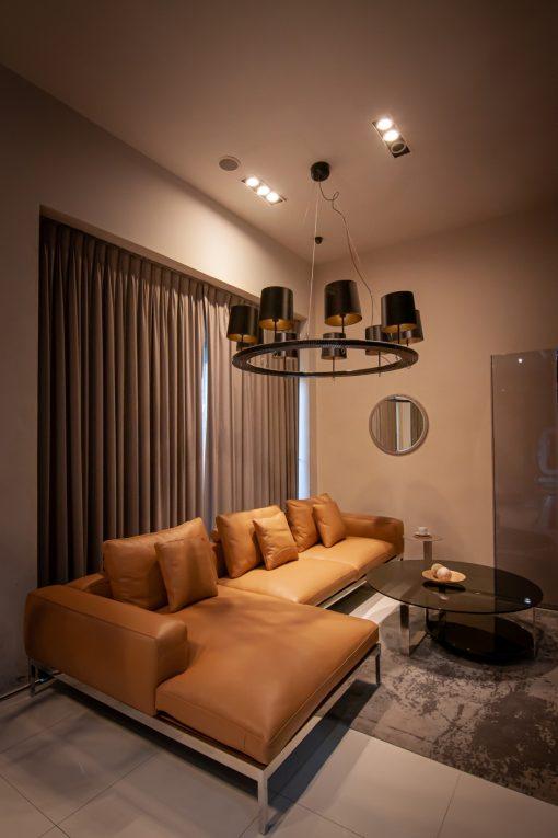 Verde Modello L Shape Sofa